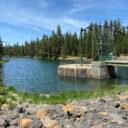 Hike to Crane Prairie Reservoir dam